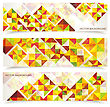 Vector Colorful Mosaic Pattern Design. Abstract, Geometric Backgrounds