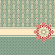 Greeting Card, Fully Editable Eps 8 File,seamless Patterns In Swatch Menu