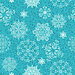 Seamless Christmas Retro Winter Pattern, Clipping Mask, Elements Can Be Used Separately, Seamless Patterns In Swatch Menu