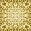 Seamless Floral Golden Pattern, Can Be Used As Backgrounds, Patterns, Wrapping Paper, Eps 10, Gradient Mesh