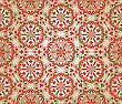 Seamless Floral Pattern, Fully Editable Eps 8 File With Clipping Mask, Elements Can Be Used Separately And Combined, Easy To Change Colors, Pattern In Swatch Menu