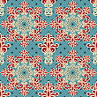 Seamless Floral Wallpaper Pattern, Fully Editable Eps 8 File,seamless Patterns In Swatch Menu