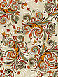 Seamless Pattern With Autumn Leaves, Fully Editable Eps 8 File With Clipping Mask, Pattern In Swatch Menu
