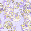Seamless Pattern With Butterflies And Flowers, Can Be Used As Pattern, Background, Or Wrapping Paper
