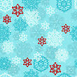 Seamless Pattern With Highly Detailed Snowflakes, Fully Editable Eps 8 File With Clipping Mask