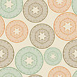 Seamless Pattern With Lacy Balls, You Can Use It As Background, Pattern Or Wrapping Paper stock vector