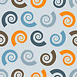 Seamless Pattern With Shells, Fully Editable Eps 8 File With Clipping Masks And Pattern In Swatch Menu