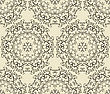 Seamless Vintage Highly Detailed Hexagon Patterne, Fully Editable Eps 8 File, Pattern In Swatch Menu
