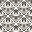 Seamless Vintage Pattern, Fully Editable Eps 8 File With Clipping Mask And Pattern In Swatch Menu stock vector
