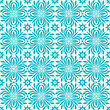 Seamless Winter Pattern With Snowflakes, Fully Editable Eps 8 File, Seamless Pattern In Swatch Menu stock illustration