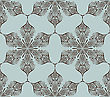 Seamless Winter Pattern With Snowflakes, Fully Editable Eps 8 File With Clipping Mask And Pattern In Swatch Menu