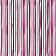 Vertical Seamless Striped Pattern. Hand Painted Background With Ink Brush Stroke. Pink And Violet Color Stripes On White Background. Can Be Used For Prints, Wallpaper, Baby Shower Invitation, Birthday