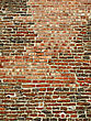 Very Ancient Brick Wall Background stock photo