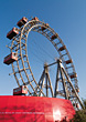 Austria Vienna, Ferris Wheel In The Prater, Austria stock photo