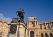Vienna, Neue Hofburg stock photography
