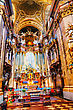 VIENNA - OCTOBER 10: St. Stephen's Cathedral (Stephansdom) Interior On October 10, 2012 In Vienna, Austria. It's The Mother Church Of The Archdiocese Of Vienna And The Seat Of The Archbishop Of Vienna