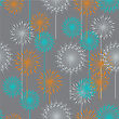 Vintage Floral Pattern In Pastel Colors. Hand Drawn Chrysanthemums Flowers.Vector Illustration For Design Of Gift Packs, Wrap, Patterns Fabric, Wallpaper, Web Sites And Other