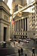 Wall Street, New York stock photography