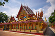 Wat Phra Nang Sang In Phuket, Thailand stock photo