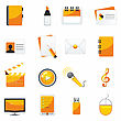 Web Business & Office Icons, Signs, Vector Illustrations