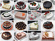 Wedding cakes stock photo