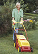 Weekend Yard Work stock image