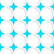 White 3D With Colors Blue Stars.Abstract Geometrical Background. Pattern With Cut Out Paper Effect And Realistic Shadows