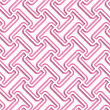 White 3D With Colors Diagonal T Rounded Shapes With Pink.Abstract Geometrical Background. Pattern With Cut Out Paper Effect And Realistic Shadows