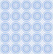 White Background With Abstract Blue Pattern