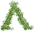 Wickiup Hut Of Branches Bamboo With Green Leafs - Vector