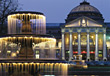 Wiesbaden, Casino, Germany stock photography