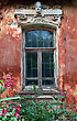 Window In Old-time House stock image