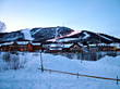 Landscapes Winter Ski Resort stock photo