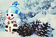 Xmas Funny Backgrounds For Your Design stock image