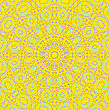 Yellow Background With Abstract Patterns