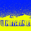 Yellow And Blue Flag Of Ukraine. Symbol Of Independence