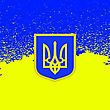 Yellow Blue Flag Of Ukraine Symbol Of Independence