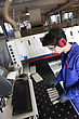 Anti Young Man Working In Workshop stock image