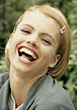 Young Woman Laughing stock photography
