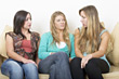 Young Women Chatting