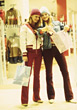 Young Women In A Department Store stock image