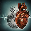 Your Time Is Up! Grungy Health And Medical Backgrounds stock image